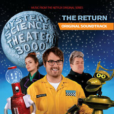 Mystery Science Theater 3000:The Return: Soundtrack NEW SEALED LP on colored vin