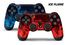 Dual Skin Sticker Wraps 2 Pack PS4 Playstation 4 Remote Controller Decals ICE