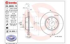 2x BREMBO Discos de freno delanteros Ventilado 277mm 09.8609.11
