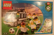 NEW LEGO 3404 Sports Soccer Team Black Bus Transport