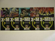 X-MEN: MARVEL KNIGHTS - FULL RUN  - 1 - 5 - FREE SHIPPING