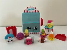 Shopkins Food Fair Candy Collection Playset- 100% complete w/ 8 exclusives