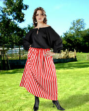 Women's Striped Wench Skirt, High quality finest fabric, handmade, Very cool!!