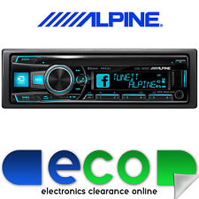 Alpine CDE-185BT Bluetooth CD MP3 USB AUX iPhone Android iPod 3 RCA Car Stereo