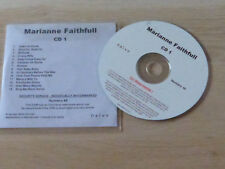 MARIANNE FAITHFULL - Easy Come Easy Go  - CD  PROMO !!!