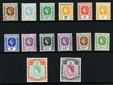 Mint Hinged Multiple Leeward Islands Stamps