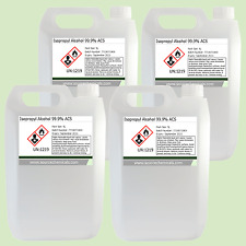 Isopropyl Alcohol (Isopropanol) 99.9% 4 x 5 Litre (20L) Including Delivery