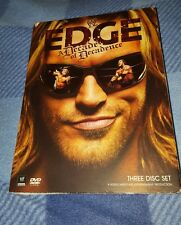 WWE: Edge - A Decade of Decadence (DVD; 3-Disc Set) Wrestling