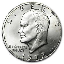 1972-S 40% Silver Eisenhower Dollar BU - SKU #5010