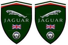 2 stickers adhésifs autocollants JAGUAR (idéal pour ailes avant)