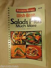 Favorite Recipes Wish-Bone Salads Plus Much More