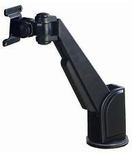 NEW BLACK ADJUSTABLE DESKTOP LED LCD SCREEN MONITOR ARM + TABLE WORKTOP CLAMP