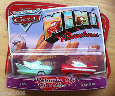 Disney PIXAR World of Cars MINI ADVENTURES Parade of Classics FLO & RAMONE