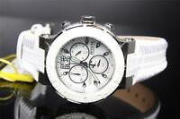 Womens Invicta Reserve Ocean Reef White Diamonds MOP Leather Swiss Watch New