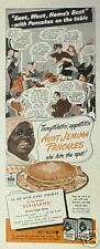 "1944 Aunt Jemima Pancakes~Black Americana Memorabilia East~West ""Home's Best"" AD"