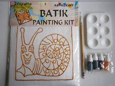 Fun-to-do Batik Painting Kit (Snail) by Batik Craft Malaysia