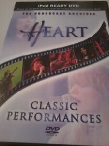 HEART The Broadcast Archives DVD Classic performances POST FREE