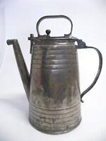 Antike ZINNKANNE von 1862 Punziert -R21