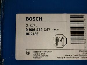 Bosch Pair of Brake Discs - 0986479C47 - Pair