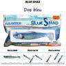 FLASHMER : BLUE SHAD : Un shad souple anti accroche, aromatisé, monté en texan