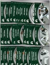2016 Panini Michigan State SILVER Collegiate Collection Complete 49 Card Set