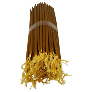 33 Natural Beeswax Jerusalem Candles Singed in Holy Sepulcher Church Holy Land
