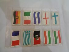 Vintage Sun Soccercards Flags of Soccer Nations 951 to 960 - set of 10