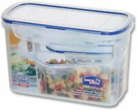 Lock & Lock, Water Tight Lid, Food Biscuit Container, HPL820, 51 Oz, 6.2 Cup