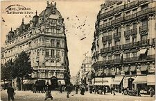 CPA PARIS 17e-La rue de la Lévis (322353)