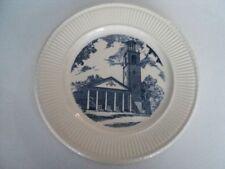 Wedgwood Collector Plate Stetson Chapel,Kalamazoo,Mi 1833-1958 125th anniversary