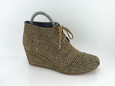 d0525c552fc Toms Women s Brown Cheetah Print Shoes 12