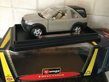 BBURAGO LAND ROVER FREELANDER 1/24, MINT IN BOX