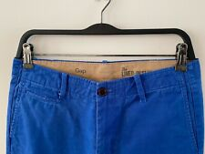 GAP Men's Blue Live In Slim Chinos - Size S (30W x 32L)