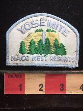 Kinda Dirty YOSEMITE NACO WEST RESORTS California Patch 74QQ