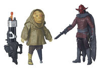 STAR WARS VII JUNGLE MISSION 3.75IN 2-PACK SIDON ITHANO AND FIRST MATE QUIGGOLD