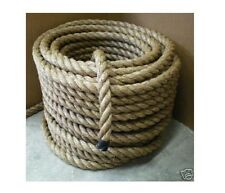 1-1/2 TREATED MANILA ROPE CUT TO LENGTH 1.5 Dock Landscape Nautical Deck TIKI
