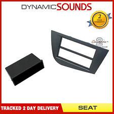 CT24ST25 Stereo Fascia Panel Adaptor (Dark Grey) For SEAT Leon 2005-2012