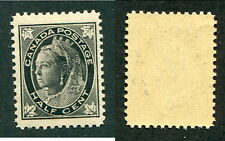 MNH Canada 1/2 Cent Queen Victoria Leaf Stamp #66 (Lot #9317)