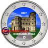 2 Euro Commémorative Allemagne 2017 en Couleur Type A - Rhénanie Palatinat
