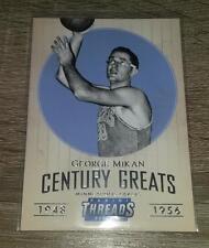 2014-15 Panini Threads Century Greats George Mikan