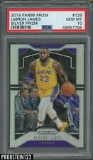 2019-20 Panini Silver Prizm #129 LeBron James Los Angeles Lakers PSA 10 GEM MINT
