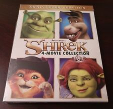 Shrek 4 Movie Collection (Blu-ray Boxset,4-Disc Set)New-Free S&H with Tracking