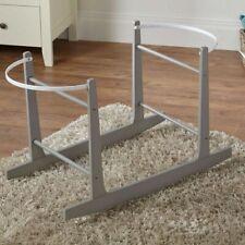 Grey Rocking Moses Basket Stand