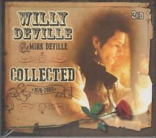 Willy Deville & Mink Deville - Collected 1976-2009, 3CD Neu