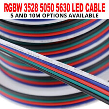 5 Pin RGB RGBW RGBWW 3528 5050 LED Strip Light 5 Colour Wire Extension Cable