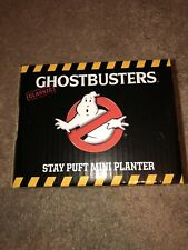 Ghostbusters Stay Puft mini planter