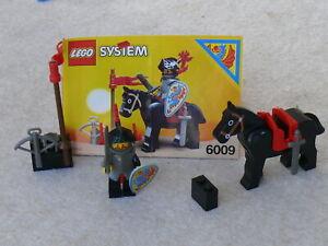 lego 6009 : chevalier du moyen-âge