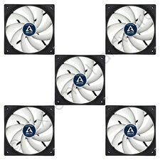 5 Pack Arctic Cooling F12 PWM Rev.2 120mm Case Fans 1350 RPM (AFACO-120P2-GBA01)