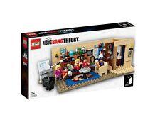 21302 BIG BANG THEORY lego city town NISB NEW legos set Sheldon Lenard