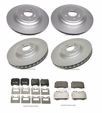 For Mercedes W163 ML430 ML500 Set of 2 Front & 2 Rear Rotors & Pads Ate